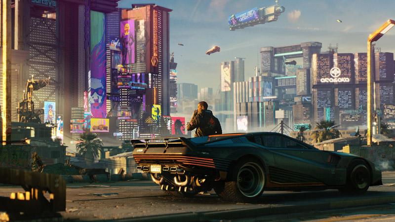 معرفی بازی cyberpung 2077 برای پلی استیشن 5