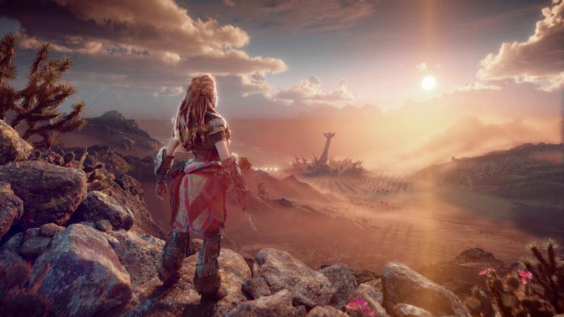معرفی بازی horizon forbidden west برای پلی استیشن 5
