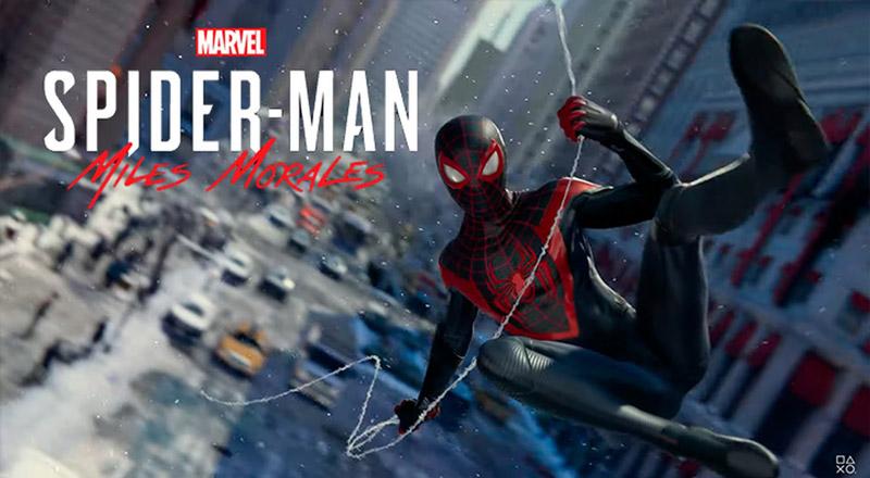 معرفی بازی spider man miles morales برای پلی استیشن 5