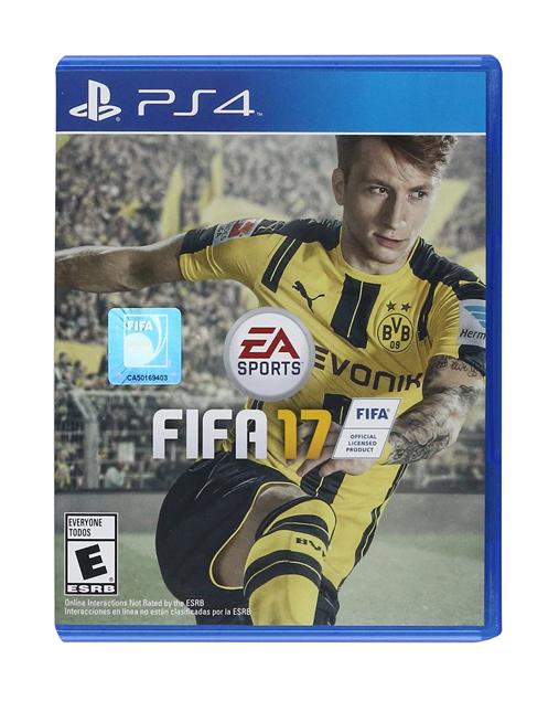 خرید بازی fifa 17 برای Ps4