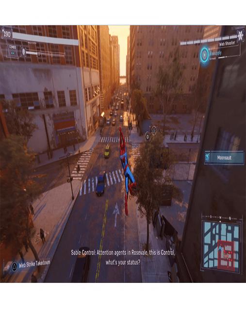 تصویر بازی Spider Man Miles Morales برای PS4 01