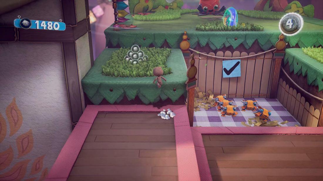 تصویر نقد و بررسی بازی Sackboy A Big Adventure برای PS5 01