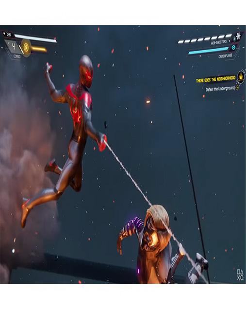 تصویر بازی Spider Man Miles Morales برای PS5 02