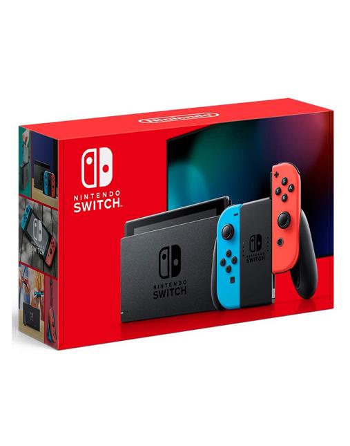خرید کنسول nintendo Switch با دسته رنگ قرمز و آبی
