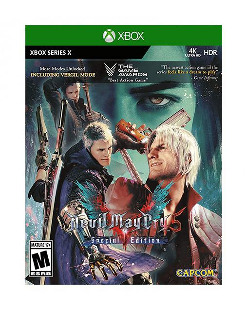 خرید بازی Devil May Cry 5 Special Edition برای Xbox Series X