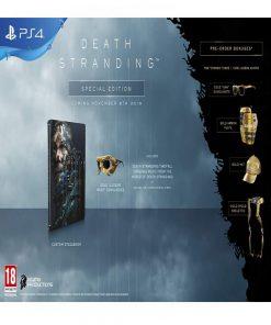 تصویر بازی Death Stranding Special Edition برای Ps4
