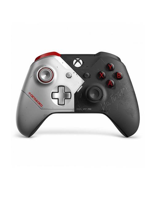 خرید دسته Xbox Wireless Controller طرح Cyberpunk 2077