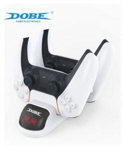 تصویر شارژر دسته PS5 مدل Dobe DualSense Charger Stand