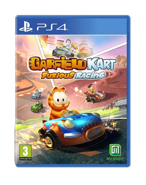 خرید بازی Garfield Kart Furious racing برای ps4