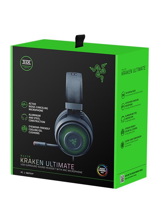 خرید هدست گیمینگ ریزر Razer Kraken Ultimate box