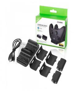 تصویر پایه شارژر دوگانه Dobe برای Xbox