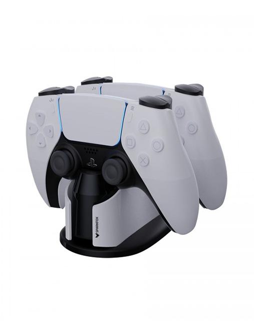 تصویر پایه شارژر دوگانه SparkFox برای PS5