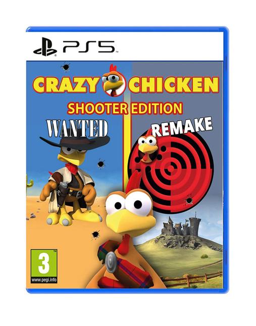 خرید بازی Crazy Chicken Shooter edition برای PS5