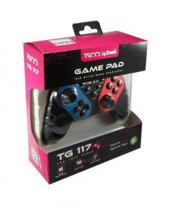 خرید دسته بازی گیمینگ تسکو TG-117 جعبه