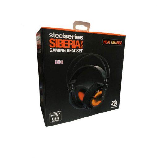 خرید هدست گیمینگ SteelSeries3 Siberia v2 Heat-Orange-Headset