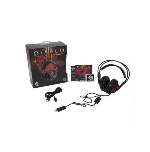 خرید هدست گیمینگ Steelseries3 Siberia v2 Illuminated Diablo III